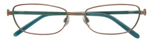 Ellen Tracy Andorra Eyeglasses Eyeglasses - Brown