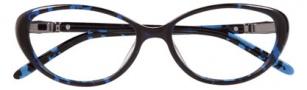Ellen Tracy Athens Eyeglasses Eyeglasses - Blue Havana