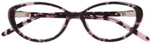 Ellen Tracy Athens Eyeglasses Eyeglasses - Rose Havana