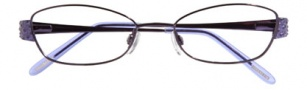 Ellen Tracy Bantry Eyeglasses Eyeglasses - Eggplant