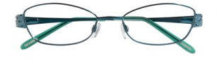Ellen Tracy Bantry Eyeglasses Eyeglasses - Teal