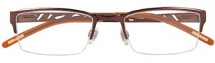 Ellen Tracy Beijing Eyeglasses Eyeglasses - Brown