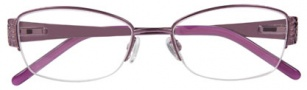Ellen Tracy Cannes Eyeglasses Eyeglasses - Amethyst