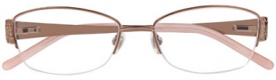 Ellen Tracy Cannes Eyeglasses Eyeglasses - Brown