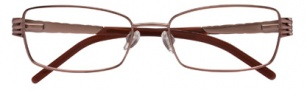 Ellen Tracy Corsica Eyeglasses Eyeglasses - Brown