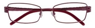 Ellen Tracy Corsica Eyeglasses Eyeglasses - Wine