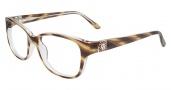 Anne Klein AK5005 Eyeglasses Eyeglasses - Butterscotch Horn Crystal