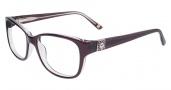 Anne Klein AK5005 Eyeglasses Eyeglasses - Burgundy Crystal