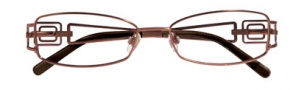 Ellen Tracy Cusco Eyeglasses Eyeglasses - Brown