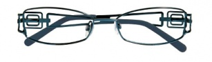 Ellen Tracy Cusco Eyeglasses Eyeglasses - Navy