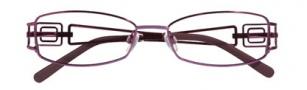 Ellen Tracy Cusco Eyeglasses Eyeglasses - Plum