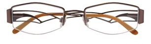 Ellen Tracy Diani Eyeglasses Eyeglasses - Brown