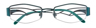 Ellen Tracy Diani Eyeglasses Eyeglasses - Teal
