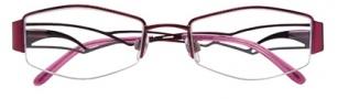 Ellen Tracy Diani Eyeglasses Eyeglasses - Wine