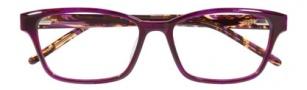 Ellen Tracy Dublin Eyeglasses Eyeglasses - Plum