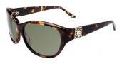 Anne Klein AK7003 Sunglasses Sunglasses - Tokyo Tortoise