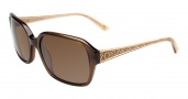 Anne Klein AK7002 Sunglasses Sunglasses - Mocha