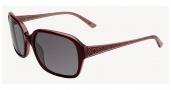 Anne Klein AK7002 Sunglasses Sunglasses - Burgundy