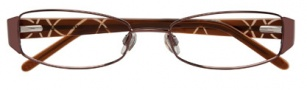 Ellen Tracy Levana Eyeglasses Eyeglasses - Brown