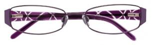 Ellen Tracy Levana Eyeglasses Eyeglasses - Plum
