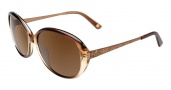 Anne Klein AK7000 Sunglasses Sunglasses - Brown Fade