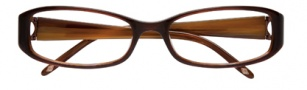 Ellen Tracy Monaco Eyeglasses Eyeglasses - Brown Laminate