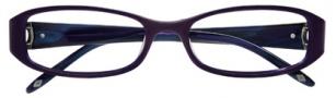 Ellen Tracy Monaco Eyeglasses Eyeglasses - Eggplant Laminate