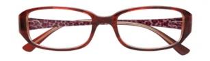 Ellen Tracy Santorini Eyeglasses Eyeglasses - Wine Laminate