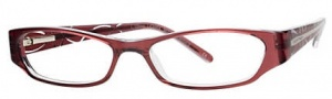 Ellen Tracy Licerta Eyeglasses Eyeglasses - Berry Laminate