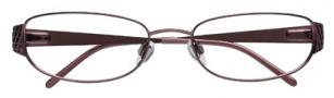 Ellen Tracy Uma Eyeglasses Eyeglasses - Burgundy