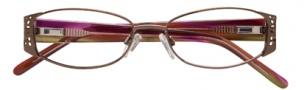 Ellen Tracy Valencia Eyeglasses Eyeglasses - Coffee