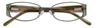 Ellen Tracy Valencia Eyeglasses Eyeglasses - Greenstone