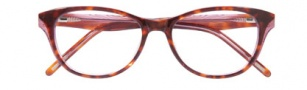 Ellen Tracy Wellington Eyeglasses Eyeglasses - Tortoise Laminate