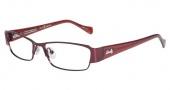 Lucky Brand Antigua Eyeglasses Eyeglasses - Burgundy