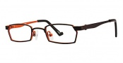 Ogi Kids OK65 Eyeglasses Eyeglasses - 631 Espresso / Burnt Orange