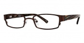 Ogi Kids OK73 Eyeglasses Eyeglasses - 1297 Dark Brown / Brown & Cream