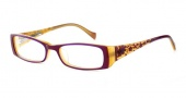 Lucky Brand Michelle AF Eyeglasses Eyeglasses - Burgundy