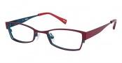 Ogi Kids OK76 Eyeglasses Eyeglasses - 1308 Dark Burgundy / Deep Sea Blue