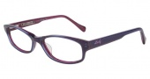 Lucky Brand Poet Eyeglasses Eyeglasses - Purple