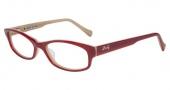 Lucky Brand Poet Eyeglasses Eyeglasses - Red