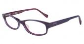 Lucky Brand Poet AF Eyeglasses Eyeglasses - Purple