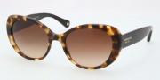 Coach HC8049 Alexa Sunglasses Sunglasses - 504513 Spotty Tortoise / Brown Gradient