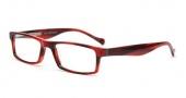 Lucky Brand Rigby Eyeglasses Eyeglasses - Red Horn