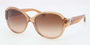 Coach HC8051 Sunglasses Sunglasses - 509413 Light Brown / Khaki Gradient