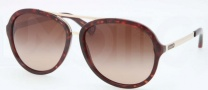 Coach HC8054 Sunglasses Kendra Sunglasses - 500113 Dark Tortoise / Dark Brown Gradient