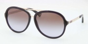 Coach HC8054 Sunglasses Kendra Sunglasses - 509768 Transparent Purple / Brown Purple Gradient