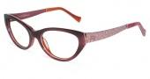 Lucky Brand Sonora AF Eyeglasses Eyeglasses - Burgundy