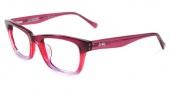 Lucky Brand Tropic Eyeglasses Eyeglasses - Raspberry