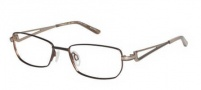 Charmant TI 10891 Eyeglasses Eyeglasses - Brown