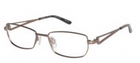 Charmant TI 10891 Eyeglasses Eyeglasses - Brown Pink